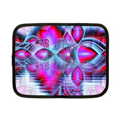 Crystal Northern Lights Palace, Abstract Ice  Netbook Sleeve (Small)