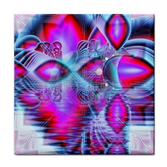 Crystal Northern Lights Palace, Abstract Ice  Face Towel