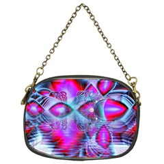 Crystal Northern Lights Palace, Abstract Ice  Chain Purse (One Side)