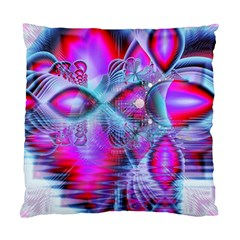 Crystal Northern Lights Palace, Abstract Ice  Cushion Case (Two Sided)