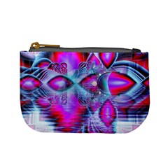 Crystal Northern Lights Palace, Abstract Ice  Coin Change Purse