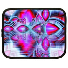 Crystal Northern Lights Palace, Abstract Ice  Netbook Sleeve (xxl)
