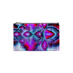 Crystal Northern Lights Palace, Abstract Ice  Cosmetic Bag (small)
