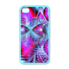 Crystal Northern Lights Palace, Abstract Ice  Apple Iphone 4 Case (color)