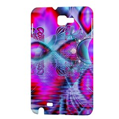 Crystal Northern Lights Palace, Abstract Ice  Samsung Galaxy Note 1 Hardshell Case