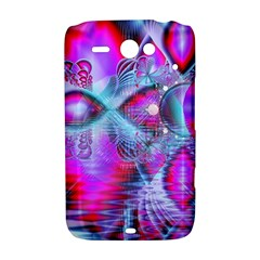 Crystal Northern Lights Palace, Abstract Ice  HTC ChaCha / HTC Status Hardshell Case