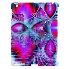 Crystal Northern Lights Palace, Abstract Ice  Apple iPad 3/4 Hardshell Case (Compatible with Smart Cover)
