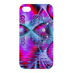 Crystal Northern Lights Palace, Abstract Ice  Apple Iphone 4/4s Premium Hardshell Case