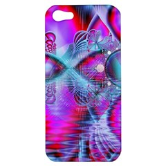Crystal Northern Lights Palace, Abstract Ice  Apple Iphone 5 Hardshell Case