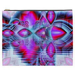 Crystal Northern Lights Palace, Abstract Ice  Cosmetic Bag (xxxl)