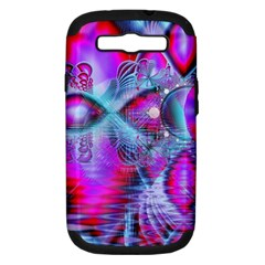 Crystal Northern Lights Palace, Abstract Ice  Samsung Galaxy S Iii Hardshell Case (pc+silicone)