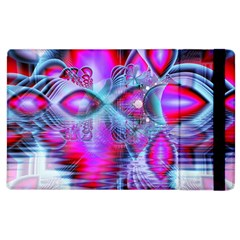 Crystal Northern Lights Palace, Abstract Ice  Apple Ipad 2 Flip Case