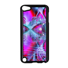 Crystal Northern Lights Palace, Abstract Ice  Apple Ipod Touch 5 Case (black)