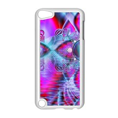 Crystal Northern Lights Palace, Abstract Ice  Apple iPod Touch 5 Case (White)