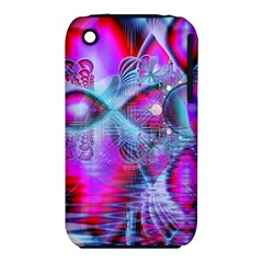 Crystal Northern Lights Palace, Abstract Ice  Apple iPhone 3G/3GS Hardshell Case (PC+Silicone)