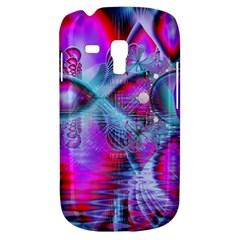 Crystal Northern Lights Palace, Abstract Ice  Samsung Galaxy S3 MINI I8190 Hardshell Case