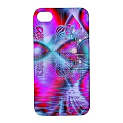 Crystal Northern Lights Palace, Abstract Ice  Apple iPhone 4/4S Hardshell Case with Stand