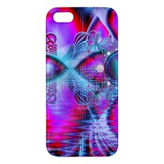 Crystal Northern Lights Palace, Abstract Ice  Apple iPhone 5 Premium Hardshell Case