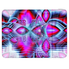 Crystal Northern Lights Palace, Abstract Ice  Samsung Galaxy Tab 7  P1000 Flip Case