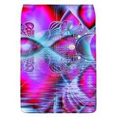 Crystal Northern Lights Palace, Abstract Ice  Removable Flap Cover (Small)