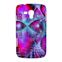 Crystal Northern Lights Palace, Abstract Ice  Samsung Galaxy Duos I8262 Hardshell Case