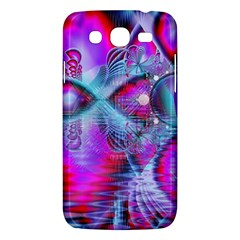 Crystal Northern Lights Palace, Abstract Ice  Samsung Galaxy Mega 5.8 I9152 Hardshell Case