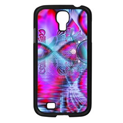 Crystal Northern Lights Palace, Abstract Ice  Samsung Galaxy S4 I9500/ I9505 Case (black)