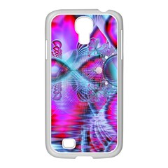 Crystal Northern Lights Palace, Abstract Ice  Samsung Galaxy S4 I9500/ I9505 Case (white)