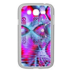 Crystal Northern Lights Palace, Abstract Ice  Samsung Galaxy Grand DUOS I9082 Case (White)