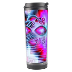 Crystal Northern Lights Palace, Abstract Ice  Travel Tumbler