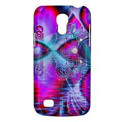 Crystal Northern Lights Palace, Abstract Ice  Samsung Galaxy S4 Mini (GT-I9190) Hardshell Case