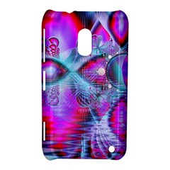 Crystal Northern Lights Palace, Abstract Ice  Nokia Lumia 620 Hardshell Case