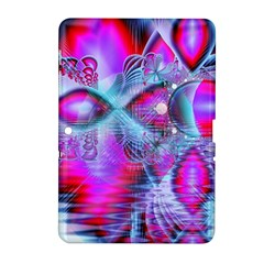 Crystal Northern Lights Palace, Abstract Ice  Samsung Galaxy Tab 2 (10.1 ) P5100 Hardshell Case
