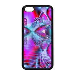 Crystal Northern Lights Palace, Abstract Ice  Apple iPhone 5C Seamless Case (Black)