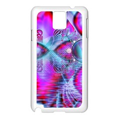 Crystal Northern Lights Palace, Abstract Ice  Samsung Galaxy Note 3 N9005 Case (White)