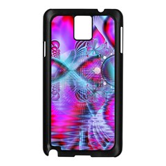 Crystal Northern Lights Palace, Abstract Ice  Samsung Galaxy Note 3 N9005 Case (black)