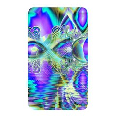 Abstract Peacock Celebration, Golden Violet Teal Memory Card Reader (Rectangular)