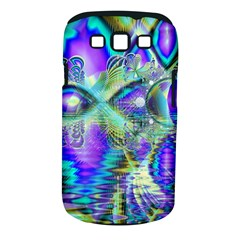 Abstract Peacock Celebration, Golden Violet Teal Samsung Galaxy S III Classic Hardshell Case (PC+Silicone)