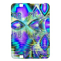 Abstract Peacock Celebration, Golden Violet Teal Kindle Fire HD 8.9  Hardshell Case