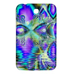 Abstract Peacock Celebration, Golden Violet Teal Samsung Galaxy Tab 3 (7 ) P3200 Hardshell Case