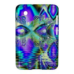Abstract Peacock Celebration, Golden Violet Teal Samsung Galaxy Tab 2 (7 ) P3100 Hardshell Case
