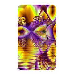 Golden Violet Crystal Palace, Abstract Cosmic Explosion Memory Card Reader (Rectangular)