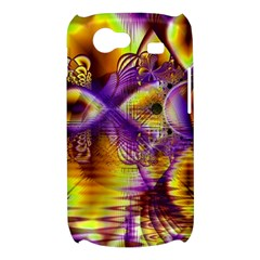Golden Violet Crystal Palace, Abstract Cosmic Explosion Samsung Galaxy Nexus S i9020 Hardshell Case