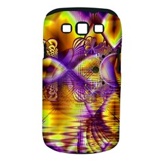 Golden Violet Crystal Palace, Abstract Cosmic Explosion Samsung Galaxy S III Classic Hardshell Case (PC+Silicone)