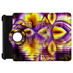 Golden Violet Crystal Palace, Abstract Cosmic Explosion Kindle Fire Hd 7  (1st Gen) Flip 360 Case