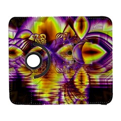 Golden Violet Crystal Palace, Abstract Cosmic Explosion Samsung Galaxy S  Iii Flip 360 Case