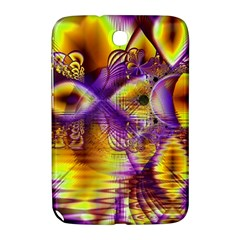 Golden Violet Crystal Palace, Abstract Cosmic Explosion Samsung Galaxy Note 8.0 N5100 Hardshell Case