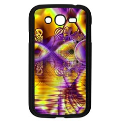 Golden Violet Crystal Palace, Abstract Cosmic Explosion Samsung Galaxy Grand Duos I9082 Case (black)