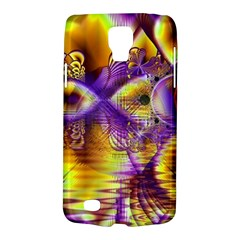 Golden Violet Crystal Palace, Abstract Cosmic Explosion Samsung Galaxy S4 Active (I9295) Hardshell Case