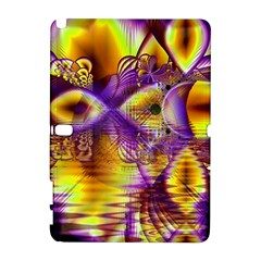 Golden Violet Crystal Palace, Abstract Cosmic Explosion Samsung Galaxy Note 10.1 (P600) Hardshell Case